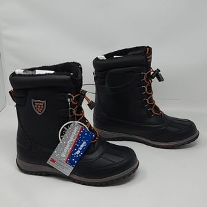 Boys 6M Totes Weather Protectors Winter Boots